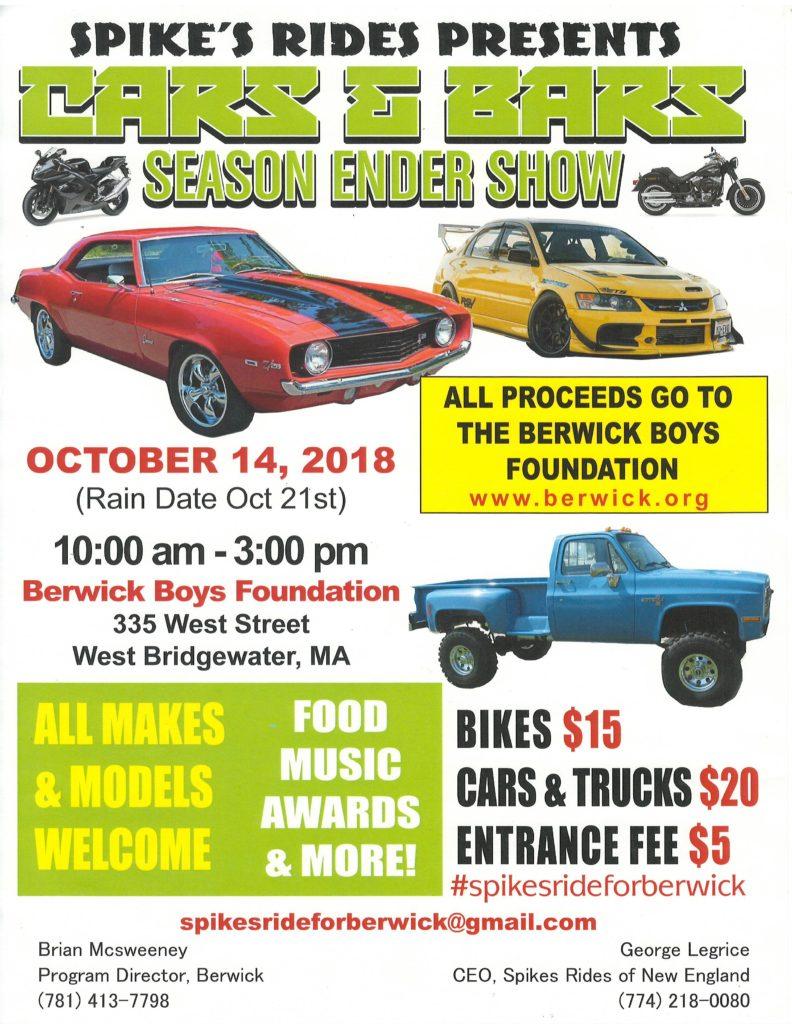 Car Show Flyer 2018